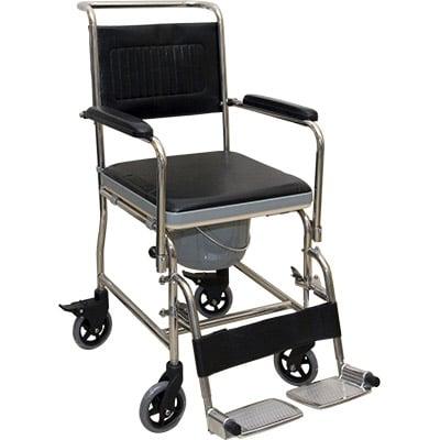 不銹鋼活動型便椅