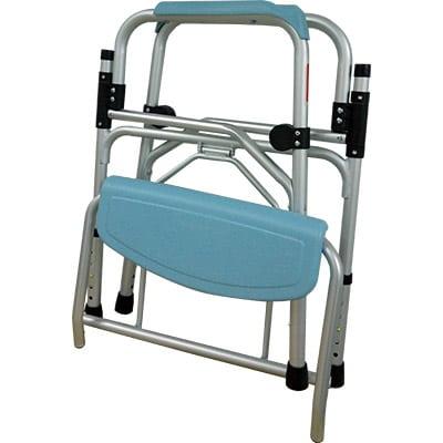 鋁合金摺合式大便椅