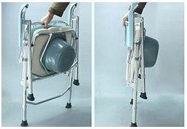 鋁合金摺合式便椅