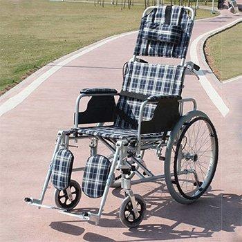 鋁合金高背後傾輪椅
