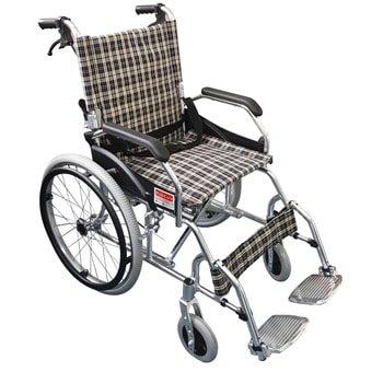 鋁合金輕便型自推式輪椅