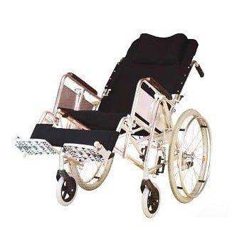 鋁合金後傾自推輪椅