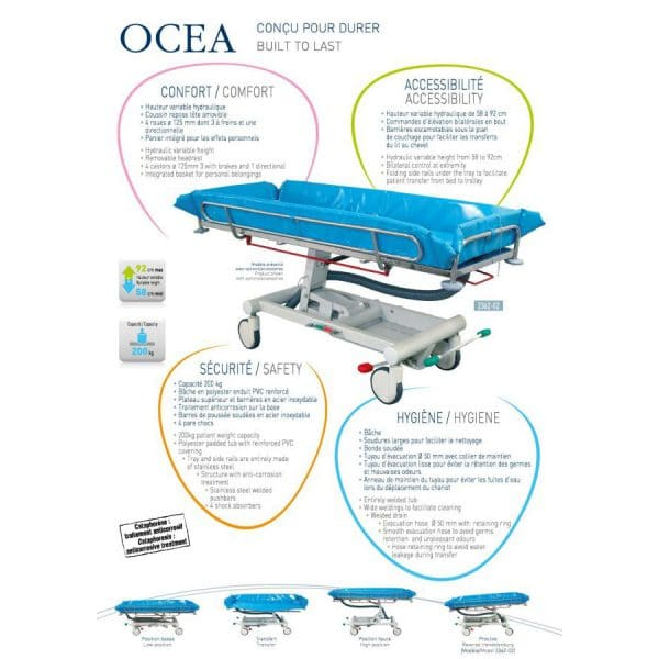 法國 Promotal Ocea 沐浴床