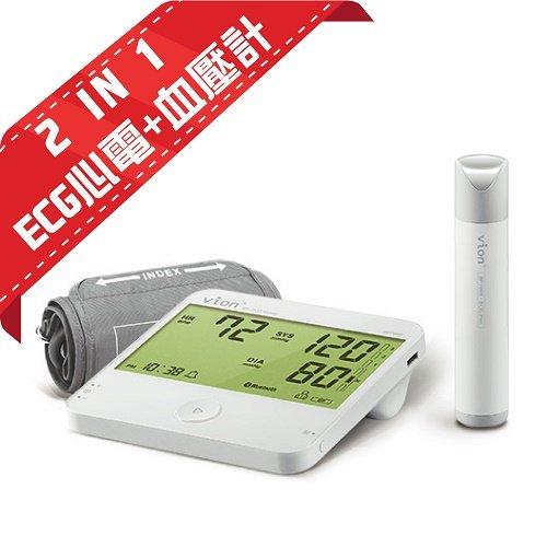 ECG心電+血壓計2合1